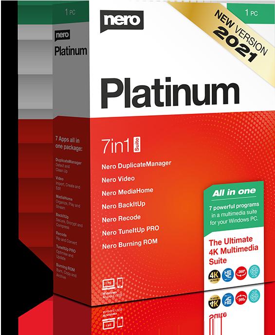 Nero Platinum Suite 2021 v23.0.1000 Multilingual Boxshot_Nero_Platinum_v2