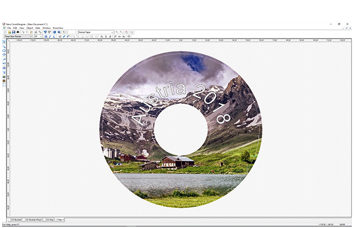 Use Nero CoverDesigner to create visually unique works of art from your burned discs.