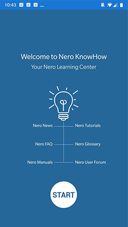Your digital assistant for completely successful multimedia projects with Nero KnowHow App.
