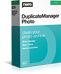 Nero DuplicateManager Photo box